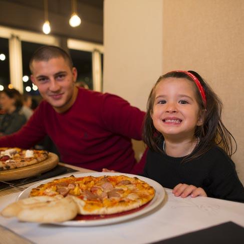 Cinepizza - pizza per bambini