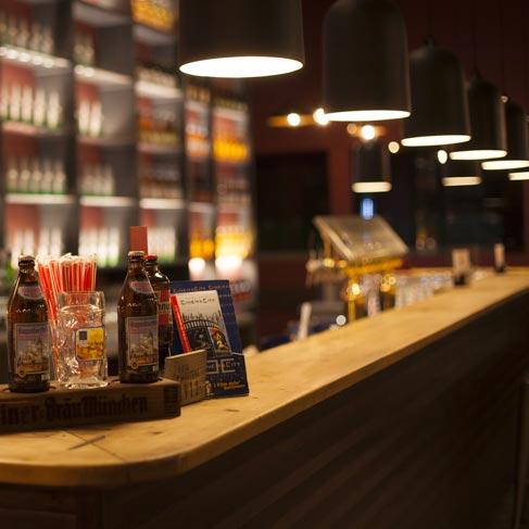 Pan de Ajo Bruschetteria - Il meraviglioso bancone che si presenta ai clienti