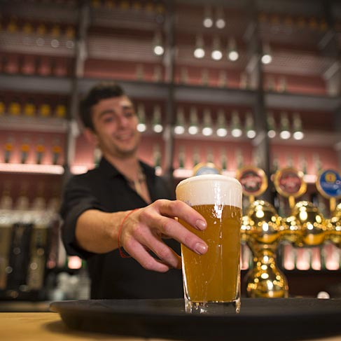 Pandeajo offre una vasta scelta di birre